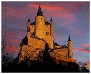 kastil Segovia oleh segiempat