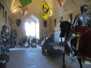 ruang persenjataan kastil segovia
