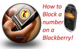 Bagaimana Cara Memblokir Nomor Pada Blackberry Oleh Segiempat