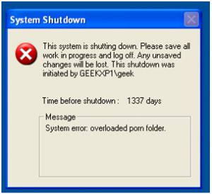Gambar Pertama Membuat Trik Kelakar Shutdown Komputer Oleh Segiempat