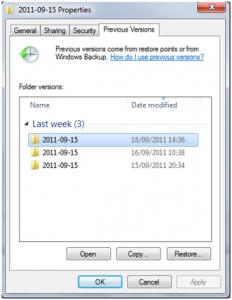 Cara Mengembalikan File Yang Telah Tertimpa Pada Windows Oleh
