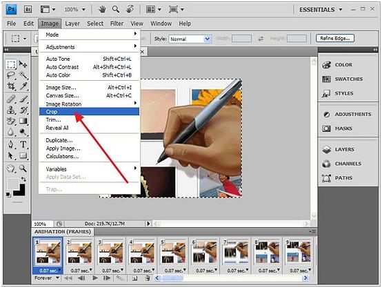 Cara Membuat Animasi GIF Dari Video Dengan Menggunakan Photoshop
