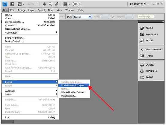 Как сделать анимацию для текста в фотошопе cs6